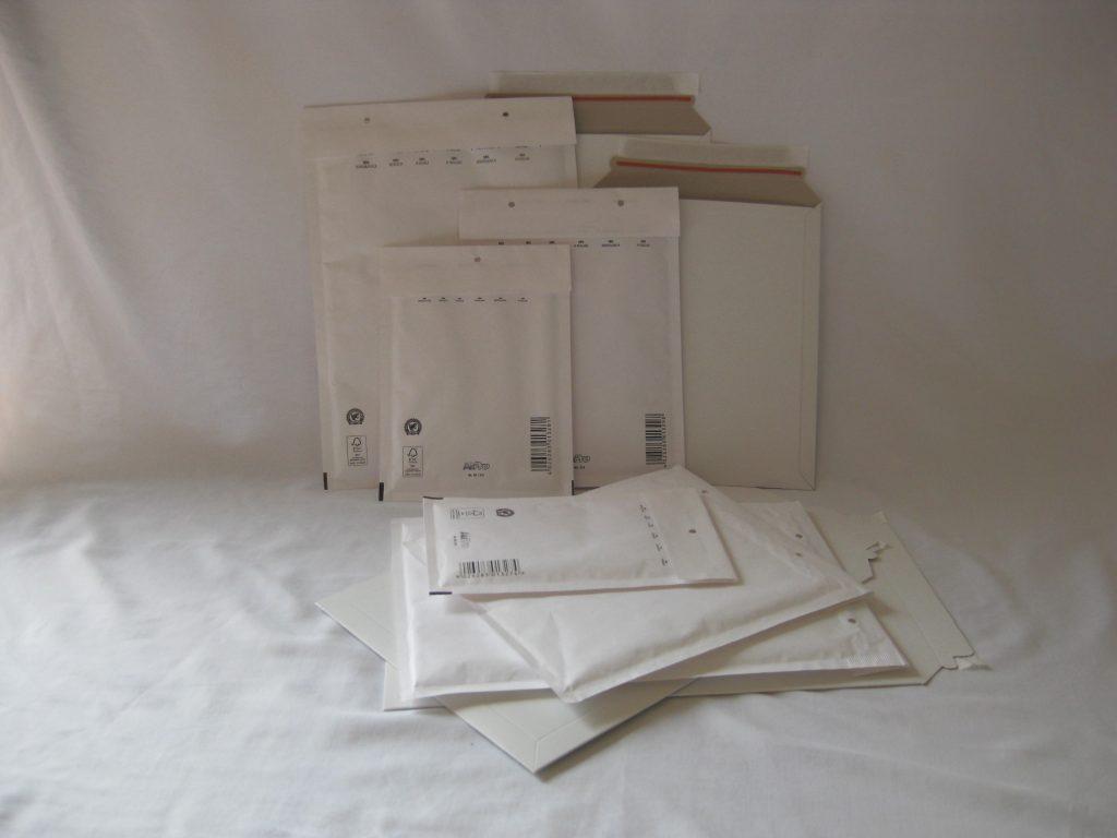 Verpakkingsmateriaal enveloppen